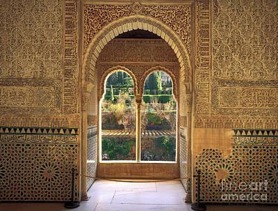 The Alhambra Torre De La Cautiva Print by Guido Montanes Castillo