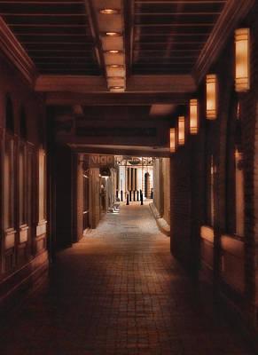 The Alleyway Print by Joann Vitali