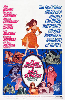 The Amorous Adventures Of Moll Print by Everett