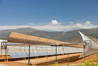 The Andasol Solar Power Station Print by Ashley Cooper