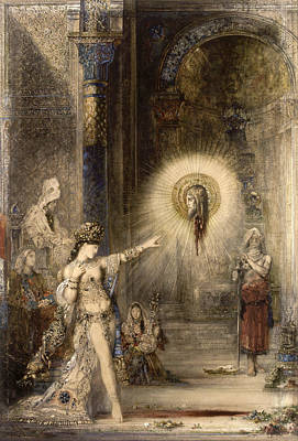 The Apparition Print by Gustave Moreau