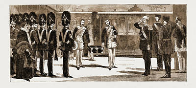 Moscow Drawing - The Approaching Coronation Of The Czar Of Russia by Litz Collection