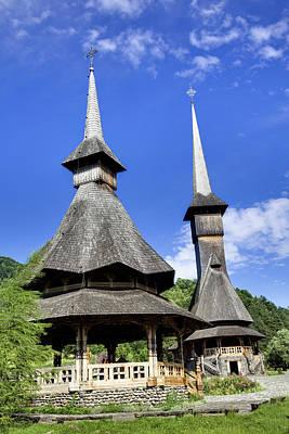Romania Photograph - The Barsana Monastery Romania by Martin Zwick