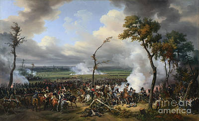 The Battle Of Hanau Print by Celestial Images