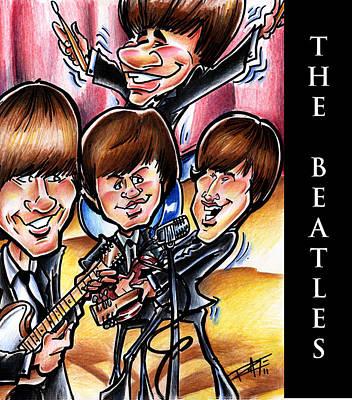 The Beatles Print by Big Mike Roate