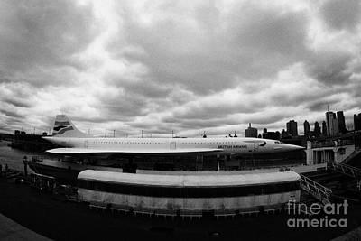 the British Airways Concorde exhibit new york Print by Joe Fox