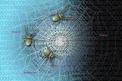 The Darknet Print by Carol & Mike Werner