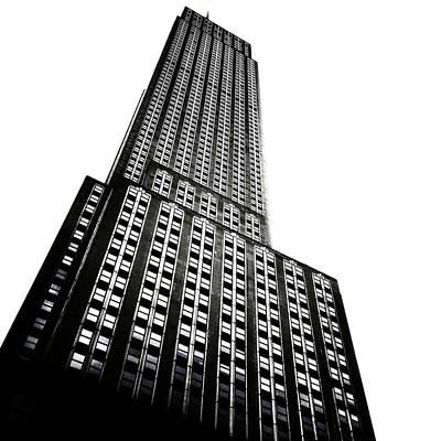 New York City Digital Art - The Empire State Building by Natasha Marco