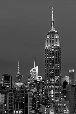 New York City Skyline Photograph - The Empire State Building by Susan Candelario