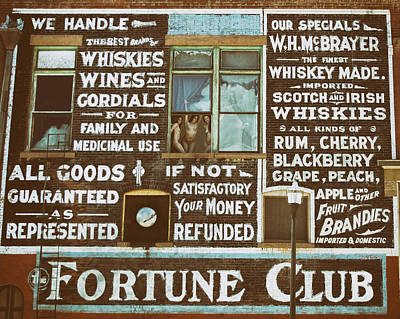 Naked Prostitute Photograph - The Fortune Club by Sleepy Weasel