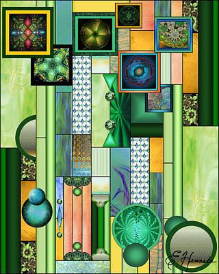 The Gallery Print by Ellen Henneke