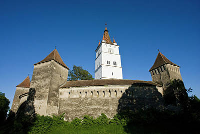 Romania Photograph - The German Fortified Church Of Harman by Martin Zwick