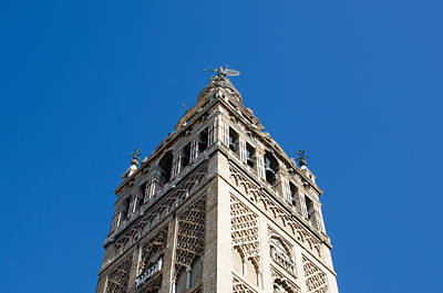 History Photograph - The Giralda Of Seville by Andrea Mazzocchetti