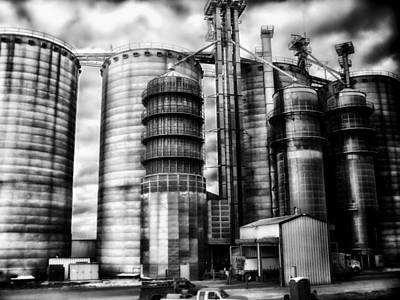 The Grain Mill Print by Mountain Dreams