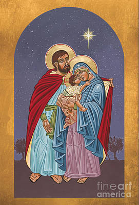 The Holy Family For The Holy Family Hospital Of Bethlehem 272 Original by William Hart McNichols