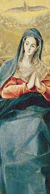 The Immaculate Conception  Print by El Greco Domenico Theotocopuli
