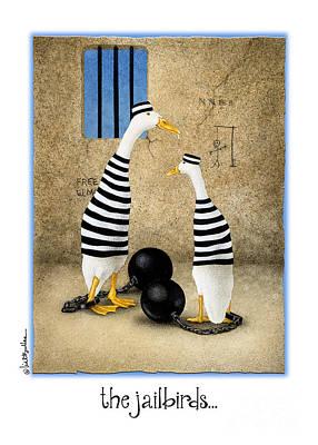 Jail Painting - The Jailbirds... by Will Bullas
