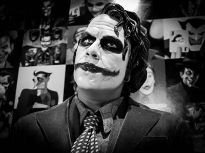 Heath Ledger Photograph - The Joker by Ismael Roman