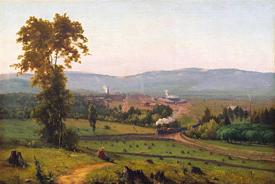 George Inness Painting - The Lackawanna Valley by George Inness
