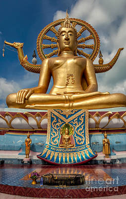 The Lord Buddha Print by Adrian Evans