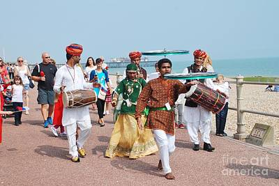 The Musafir Gypsies Of Rajasthan Print by David Fowler