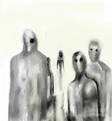 Digital Art - The Others by Ruth Clotworthy
