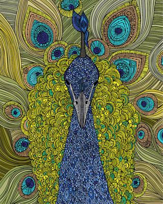 The Peacock Print by Valentina Ramos