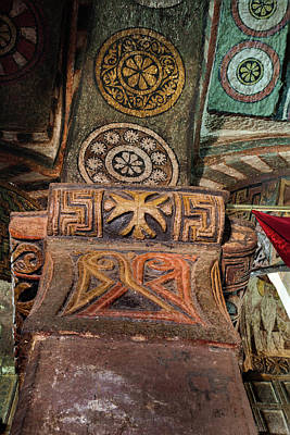 Wonders Of The World Photograph - The Rock-hewn Churches Of Lalibela by Martin Zwick
