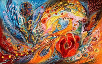 The Rose Of East Original by Elena Kotliarker