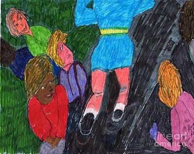 The Runner Print by Elinor Rakowski