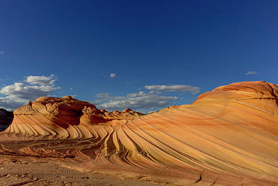 The Plateau Photograph - The Second Wave In The Vermillion by Chuck Haney