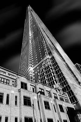 London Skyline Photograph - The Shard by Ian Hufton