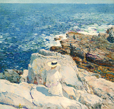 The South Ledges Appledore Print by Mountain Dreams