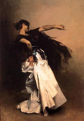 The Spanish Dancer Print by John Singer Sargent