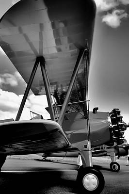 Planes Photograph - The Stearman by David Patterson