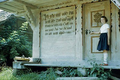 Etc. Photograph - The Swiss Lords Prayer by Jan Faul