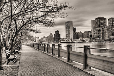 The Walk Print by JC Findley