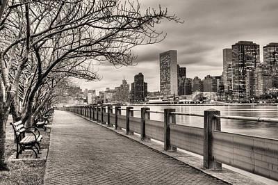 New York City Skyline Photograph - The Walk by JC Findley