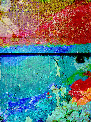 Corporate Art Photograph - The Wall Abstract Photograph by Ann Powell