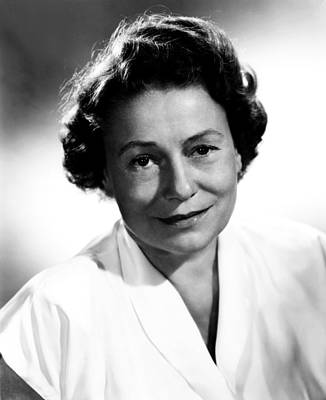 Thelma Photograph - Thelma Ritter, Ca. Mid-1950s by Everett