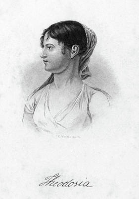 Theodosia Burr (1783-1813) Print by Granger