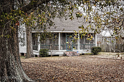 Andy Crawford Photograph - This Old House by Andy Crawford