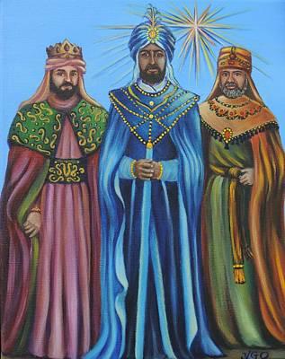 Three Kings Original by Yamelin Gonzalez Ortiz