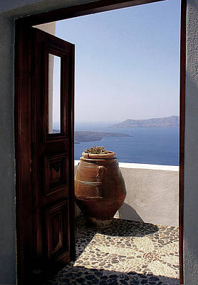 Sea View Photograph - Through This Door by Julie Palencia