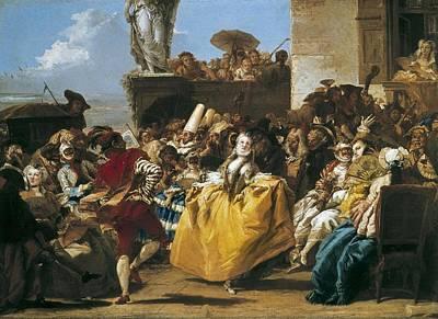Tiepolo, Giovanni Domenico 1727-1804 Print by Everett