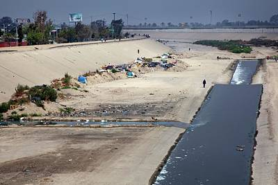 Tijuana River Print by Jim West