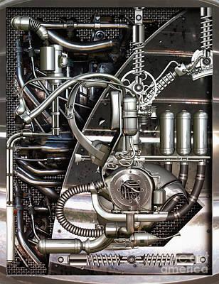 Time Machine Print by Diuno Ashlee