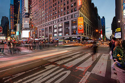 Times Square Photograph - Times Square Series by Josh Whalen