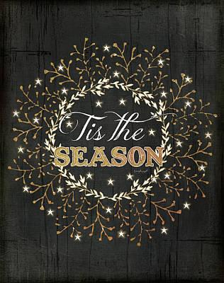Vines Painting - Tis The Season by Jennifer Pugh