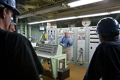Titan Missile Control Room Print by Jim West
